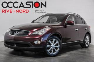 Used 2011 Infiniti EX35 CUIR+TOIT.OUVRANT+SIEGES.CHAUFFANTS for sale in Boisbriand, QC