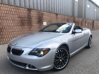 Used 2007 BMW 6 Series ***SOLD*** for sale in Toronto, ON
