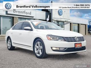 Used 2012 Volkswagen Passat Comfortline 2.0 TDI 6sp DSG at w/ Tip for sale in Brantford, ON