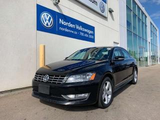 Used 2013 Volkswagen Passat 2.0L TDI COMFORTLINE - LEATHER / HEATED SEATS for sale in Edmonton, AB