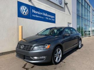 Used 2013 Volkswagen Passat 2.0L TDI HIGHLINE W/ SPORT PKG + NAVI for sale in Edmonton, AB