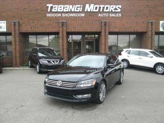 Used 2015 Volkswagen Passat 1.8 TSI - COMFORTLINE - LEATHER - SUNROOF - REAR CAM - BT for sale in Mississauga, ON