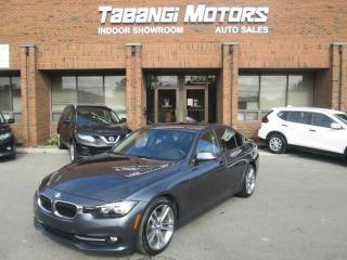 Used 2016 BMW 3 Series 320i xDrive NAVIGATION SPORT REARCAM LEATHER SUNROOF BT for sale in Mississauga, ON