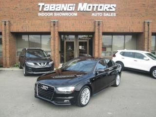 Used 2014 Audi A4 PROGRESSIVE - NO ACCIDENTS - NAVIGATION - REAR CAM - LEATHER for sale in Mississauga, ON