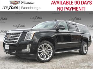 Used 2018 Cadillac Escalade ESV ESV SUNROOF, DVD, NAVIGATION for sale in Woodbridge, ON