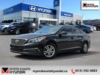 Used 2015 Hyundai Sonata 2.4L GL  - $87 B/W for sale in Kanata, ON