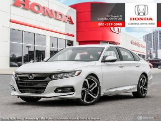 Used 2019 Honda Accord Sport 1.5T SPORT for sale in Cambridge, ON