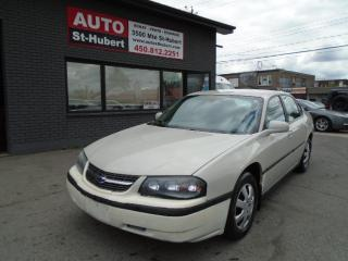 Used 2004 Chevrolet Impala for sale in St-Hubert, QC
