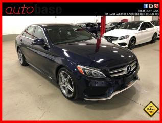 Used 2016 Mercedes-Benz C-Class C300 4MATIC PREMIUM SPORT LED HEATED STEERING WHL for sale in Vaughan, ON