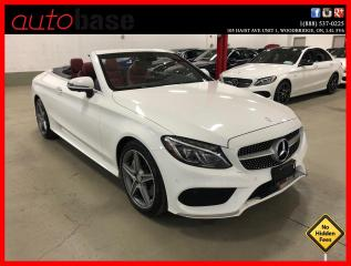 Used 2017 Mercedes-Benz C-Class C300 4MATIC BURMESTER PREMIUM SPORT ACTIVE LED 360 CAM for sale in Vaughan, ON
