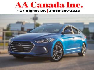 Used 2017 Hyundai Elantra GLS |SUNROOF|ACCIDENT FREE| for sale in Toronto, ON