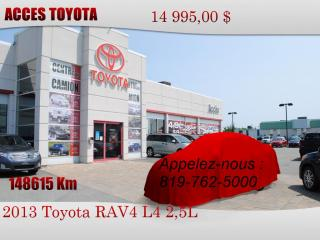Used 2013 Toyota RAV4 AWD XLE for sale in Rouyn-Noranda, QC