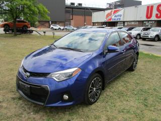 Used 2014 Toyota Corolla S~SUNROOF~HEATED SEATS~BACK-UP CAM.~ALLOY WHEELS~ for sale in Toronto, ON