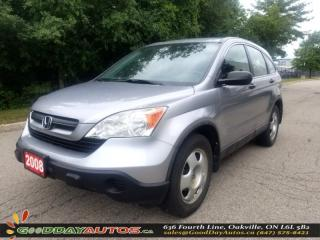 Used 2008 Honda CR-V LX  | LOW KM | AWD | CERTIFIED for sale in Oakville, ON