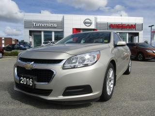 Used 2016 Chevrolet Malibu LT for sale in Timmins, ON