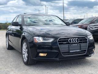 Used 2014 Audi A4 Komfort 6 SPD MAN for sale in Oakville, ON