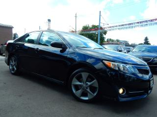Used 2012 Toyota Camry SE V6.Navigation.Camera.Leather,Roof.Heated Seats for sale in Kitchener, ON
