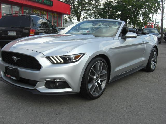 2015 Ford Mustang Convertible Ecoboost Premium