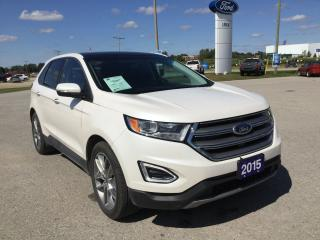 Used 2015 Ford Edge Titanium | AWD | Moon Roof for sale in Harriston, ON