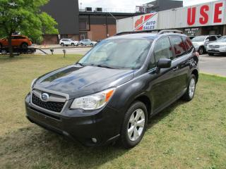 Used 2015 Subaru Forester i Convenience~HEATED SEATS~BACK-UP CAM.~CERTIFIED! for sale in Toronto, ON