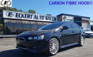 Used 2014 Mitsubishi Lancer ES LTD WITH A CARBON FIBRE HOOD!! for sale in Barrie, ON
