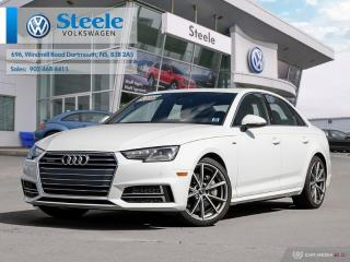 Used 2017 Audi A4 PREMIUM PLUS for sale in Dartmouth, NS