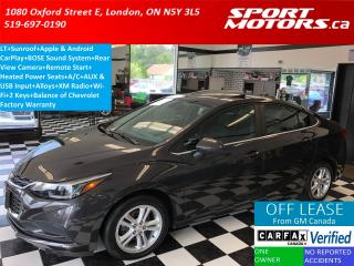 Used 2017 Chevrolet Cruze LT+4G LTE Wifi+Sunroof+BOSE System+Apple Play+A/C for sale in London, ON