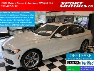 Used 2016 BMW 3 Series 320i xDrive Sport+RED Leather+Sensors+Sunroof for sale in London, ON