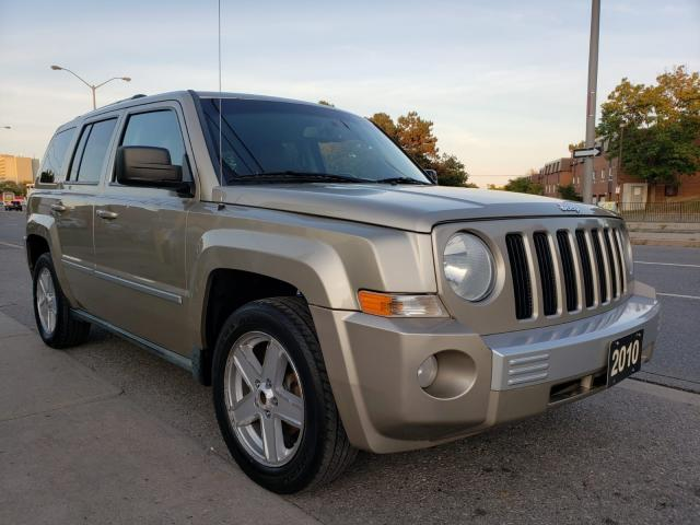 2010 Jeep Patriot LIMITED- 4X4 -LEATHER-BLUETOOTH-TINTED-AUX-ALLOYS