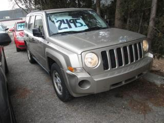 Used 2009 Jeep Patriot Sport 2WD for sale in Scarborough, ON