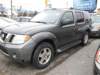 Used 2008 Nissan Pathfinder XLS 4WD - 7 Passenger! for sale in Scarborough, ON