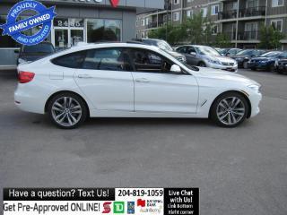 Used 2015 BMW 3 Series GT XDRIVE Red interio! Sport pkg, NAVI PUSH START for sale in Winnipeg, MB