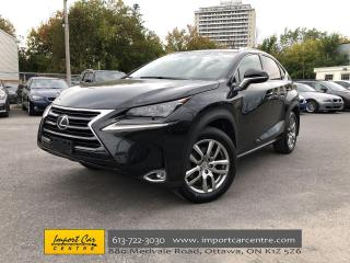 Used 2017 Lexus NX 200t LEATHER  ROOF  NAVI  BLIS  BACKUP CAMERA for sale in Ottawa, ON
