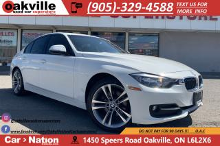 Used 2014 BMW 320i xDrive   RED LEATHER   SUNROOF   BLUETOOTH for sale in Oakville, ON