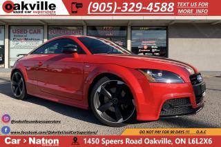 Used 2015 Audi TT 2.0T S-LINE COMP PKG | NAVI | VERY LOW KMS for sale in Oakville, ON