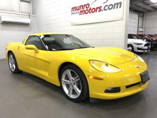 Used 2009 Chevrolet Corvette 1LT Automatic Velocity Yellow Low Kms for sale in St. George Brant, ON