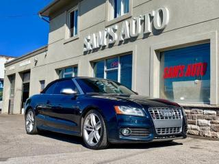 Used 2010 Audi S5 2dr Cabriolet Prestige for sale in Hamilton, ON