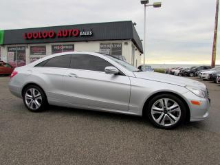 Used 2010 Mercedes-Benz E-Class E350 Coupe Navigation Sunroof Bluetooth Certified for sale in Milton, ON