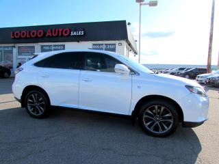 Used 2013 Lexus RX 350 F-SPORT AWD NAVIGATION CAMERA CERTIFIED for sale in Milton, ON