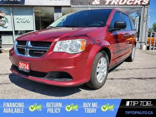 Used 2014 Dodge Grand Caravan SE ** One Owner, Clean CarFax, Well Maintained ** for sale in Bowmanville, ON