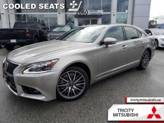 Used 2016 Lexus LS 460 F-Sport  NAVIGATION-SUNROOF-LEATHER for sale in Port Coquitlam, BC