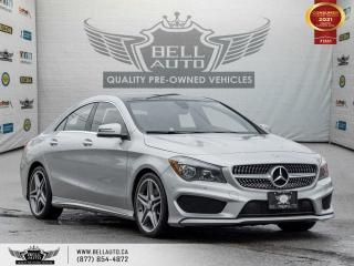 Used 2015 Mercedes-Benz CLA-Class CLA 250, AMG, AWD, NAVI, SUNROOF, B.SPOT, SENSORS for sale in Toronto, ON