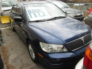 Used 2002 Mitsubishi Lancer ES for sale in Scarborough, ON