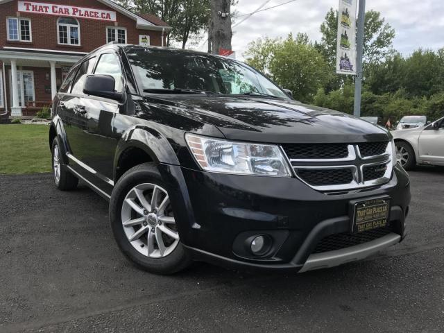 2015 Dodge Journey SXT NAV-DVD-Remote Start-Pwr Rf-RR A/C-Alloys-Dr Htd St-3rd Row-Pwr Windows-Cruise-A/C