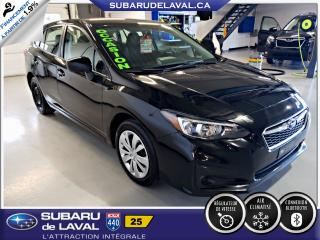 Used 2018 Subaru Impreza 2.0i Commodité Hatchback ** Apple Carpla for sale in Laval, QC