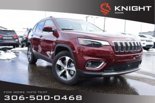 New 2020 Jeep Cherokee Limited 4x4 V6 | Sunroof | Navigation for sale in Swift Current, SK