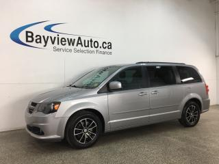 Used 2017 Dodge Grand Caravan GT - HTD LEATHER! DVD! NAV! PWR DOORS & LIFTGATE! + MORE! for sale in Belleville, ON