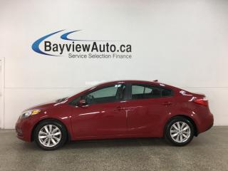Used 2015 Kia Forte 1.8L LX+ - AUTO! A/C! ALLOYS! FULL PWR GROUP! 33,000KMS! for sale in Belleville, ON