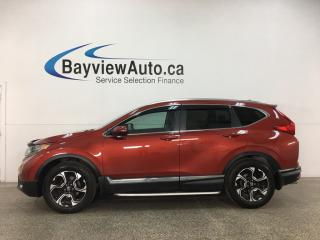 Used 2017 Honda CR-V Touring - AWD! HTD LEATHER! NAV! PANOROOF! ALLOYS! + MORE! for sale in Belleville, ON