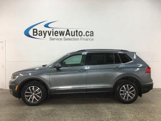 Used 2018 Volkswagen Tiguan Comfortline - 4MOTION! HTD LEATHER! NAV! PANOROOF! for sale in Belleville, ON